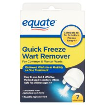 Equate Quick Freeze Wart Remover Applicator, 7 Ct