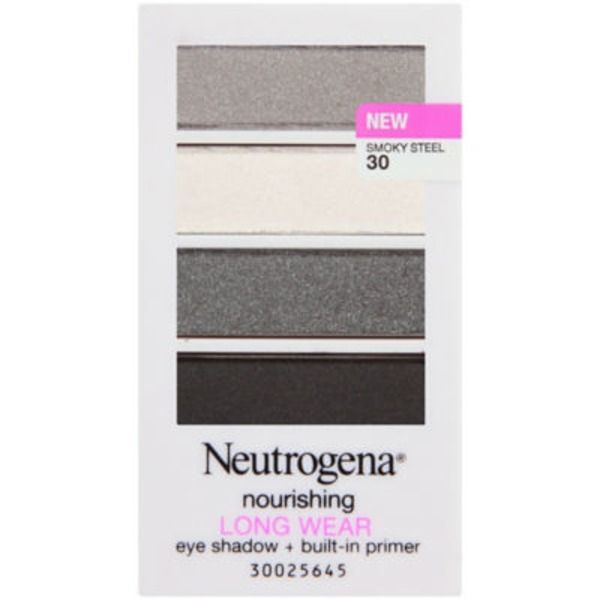 Neutrogena® 30/Smoky Steel Nourishing Long Wear Eye Shadow + Primer
