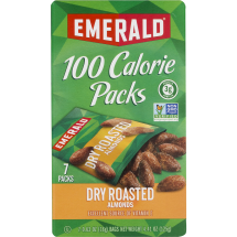 Emerald Dry Roasted Almonds, 100 Calorie Packs, 7-Pouch Boxes