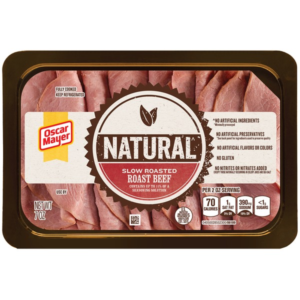 Oscar Mayer Cold Cuts Natural Slow Roasted Roast Beef