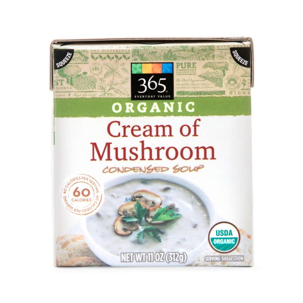 365 Organic Cream of Mushroom Condensed Soup
