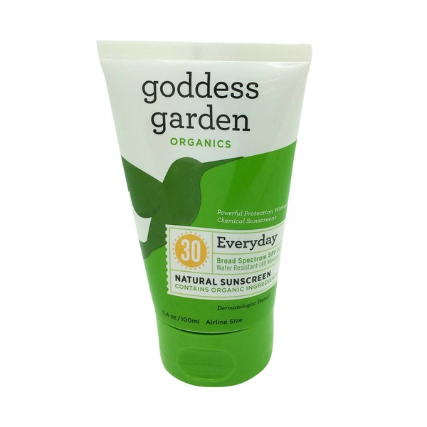 Goddess Garden Natural Everyday Broad Spectrum SPF 30 Sunscreen