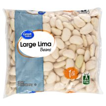 Great Value Large Lima Beans, 16 oz