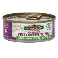 Crown Prince Solid Light Yellowfin Tuna in Extra Virgin Olive Oil