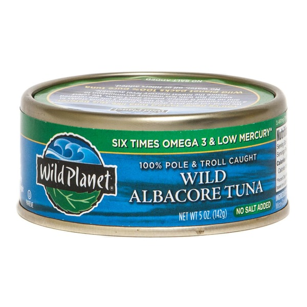 Wild Planet Albacore Wild Tuna No Salt Added