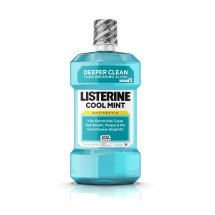 Cool Mint Listerine Antiseptic Mouthwash For Fresh Breath And A Cleaner Mouth, 1 L