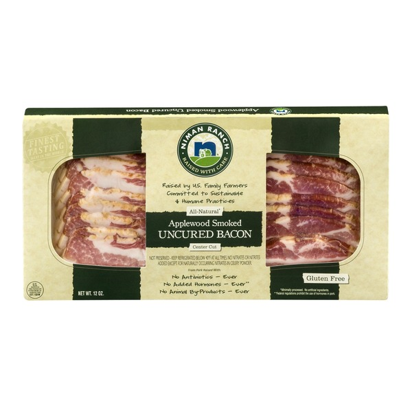 Niman Ranch Applewood Smoked Uncured Bacon