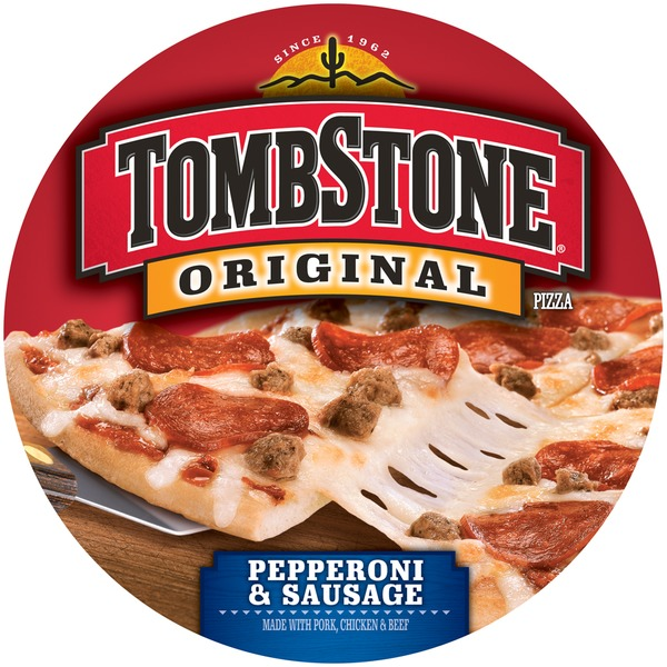 Tombstone Original Pepperoni & Sausage Pizza