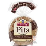 Toufayan Whole Wheat Pita Bread