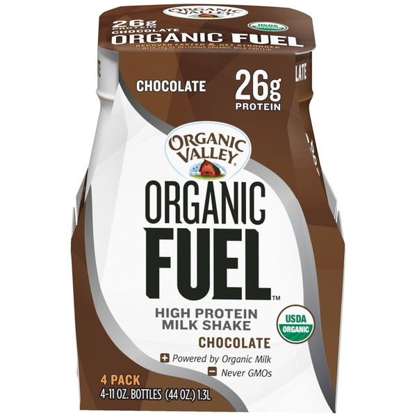Organic Valley Fuel High Chocolate Protein Shake