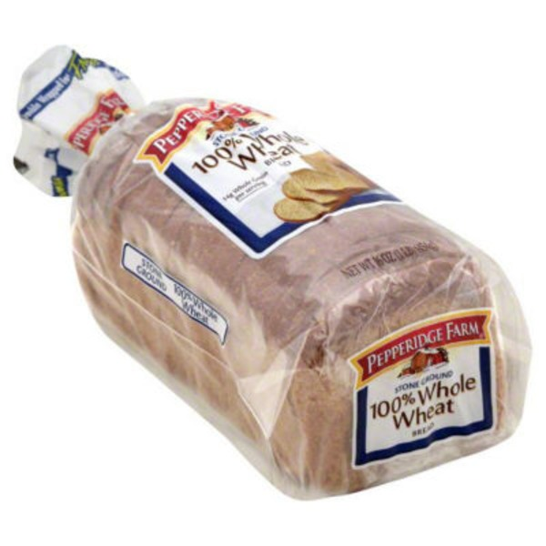 Pepperidge Farm Fresh Bakery Stone Ground 100% Whole Wheat Bread