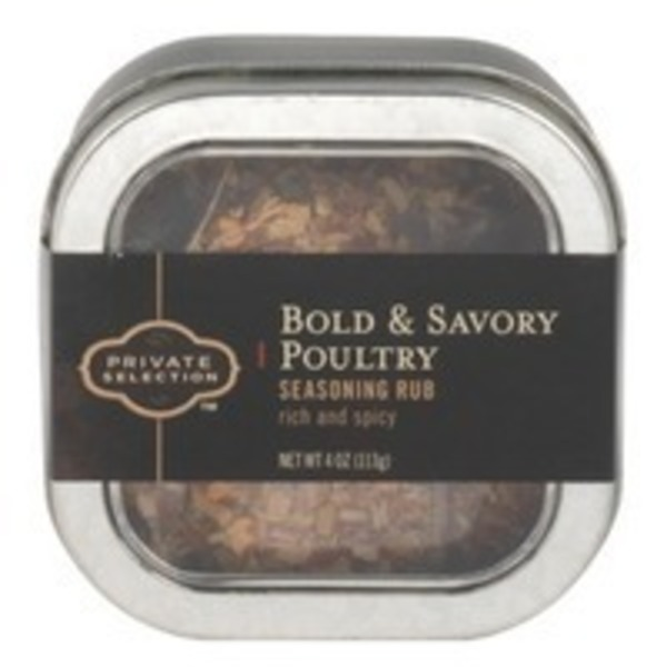 Kroger Private Selection Bold And Savory Poultry Rub
