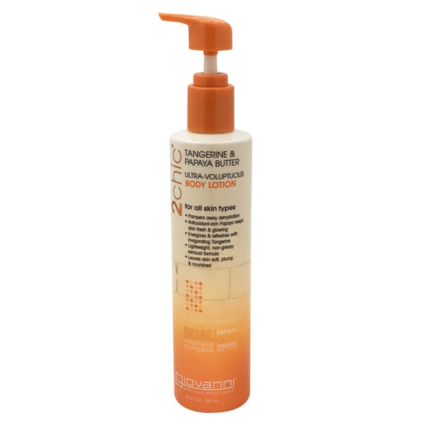 Giovanni Tangerine & Papaya Butter Body Lotion
