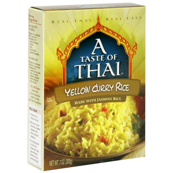 A Taste of Thai Yellow Curry Rice Boxes