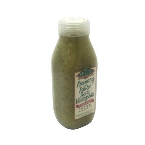 Cindy's Kitchen All Natural Sugar Free Rosemary & Roasted Garlic Vinaigrette