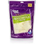 Great Value Finely Shredded Mozzarella Cheese, 8 oz