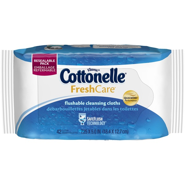 Cottonelle Fresh Care Fresh Care Flushable Cleansing Cloths