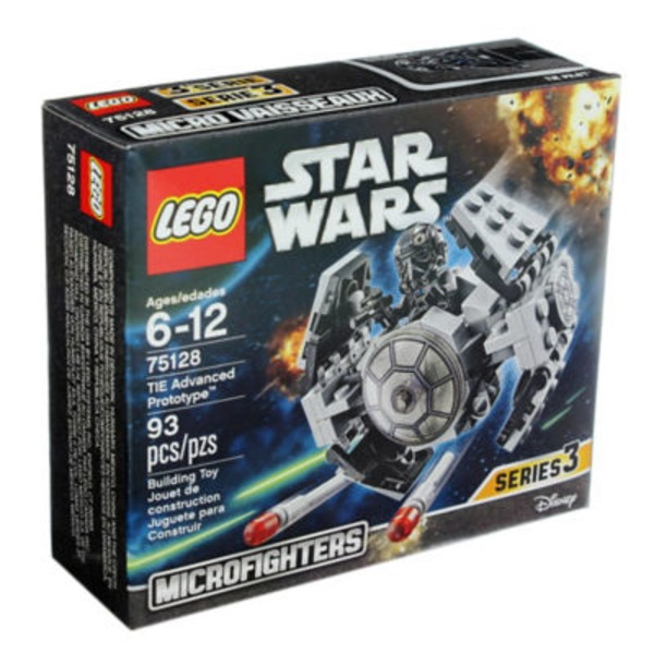 Lego Star Wars Tie Advanced Prototype Microfighter