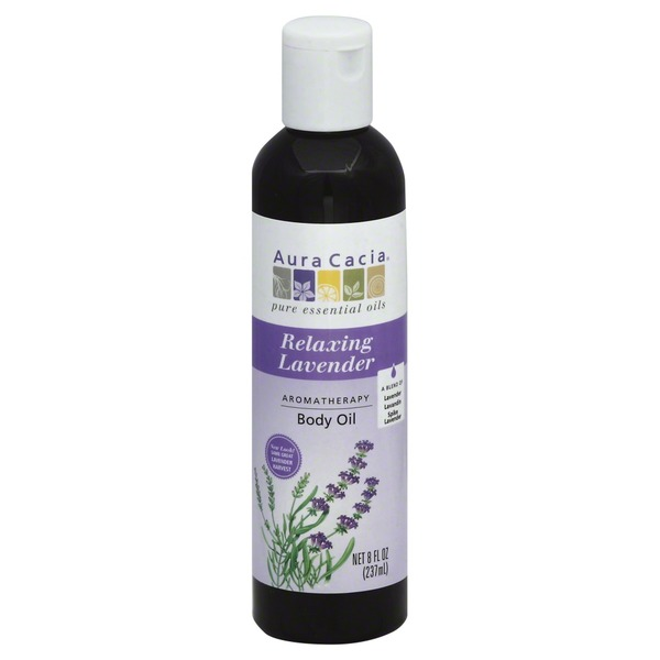 Aura Cacia Body Oil, Aromatherapy, Relaxing Lavender