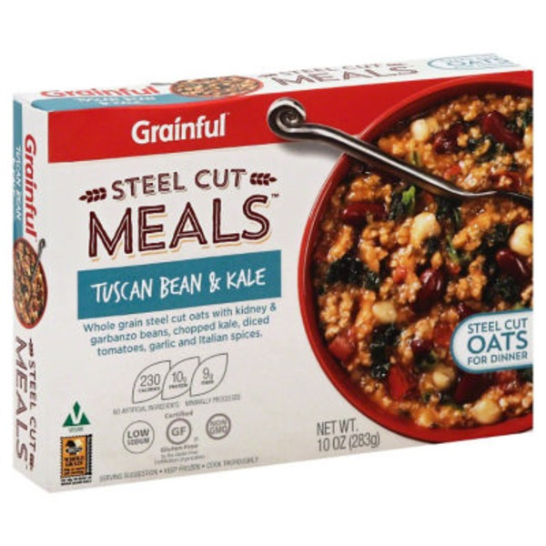 Grainful Steel Cut Meals Tuscan Bean & Kale