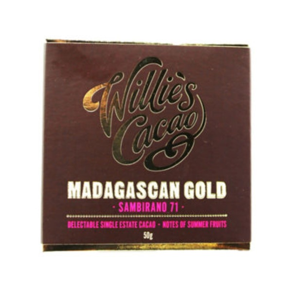Willie's Cacao Madagascan Gold Chocolate Single Square