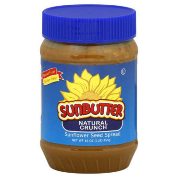 SunButter Natural Crunch Sunflower Seed Spread