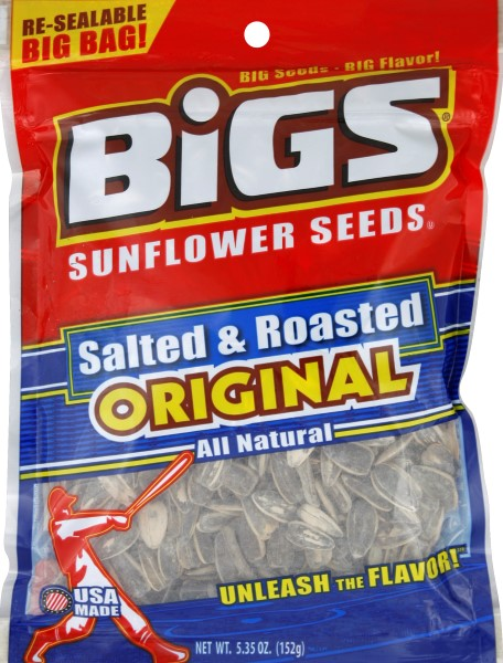 Bigs orig sunflower seeds