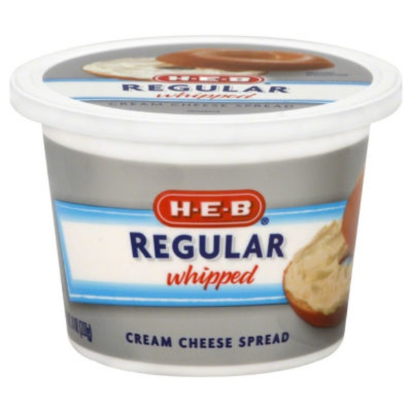 H-E-B Regular Whipped Cream Cheese Spread