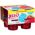 Jell-O Strawberry Sugarfree Gelatin Snacks