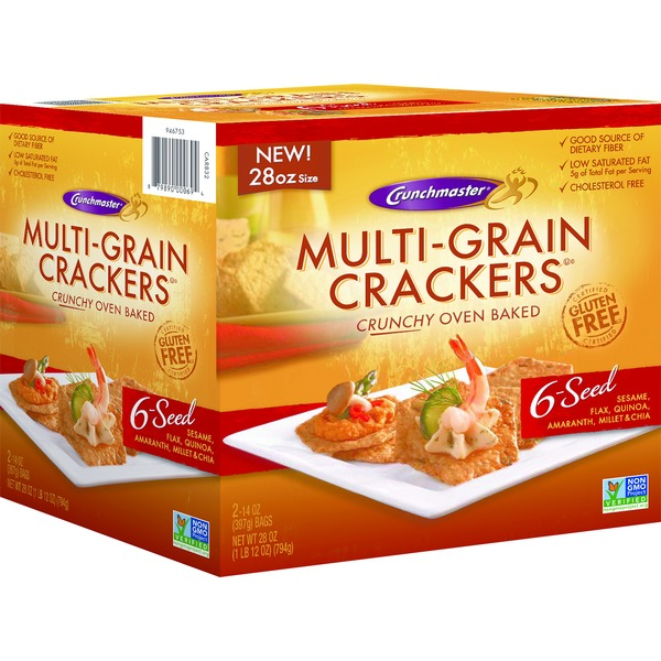 Crunchmaster Multi Grain Crackers 6 Seed