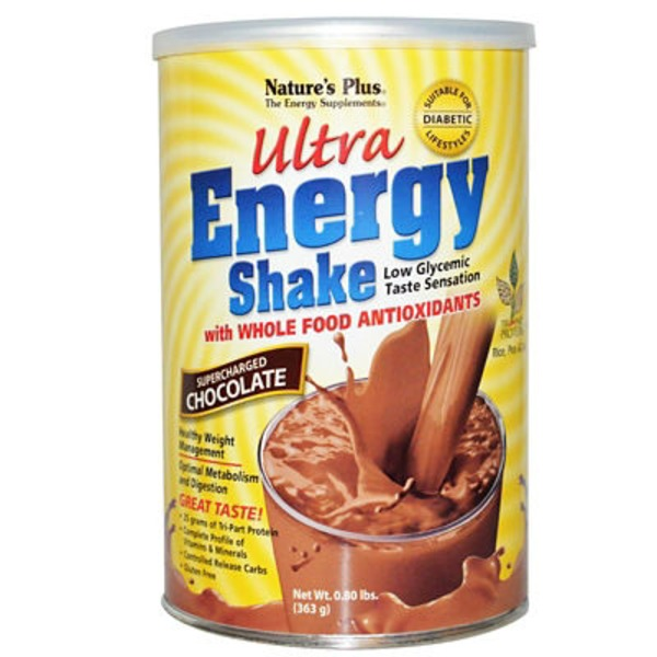 Nature's Plus Chocolate Ultra Energy Shake