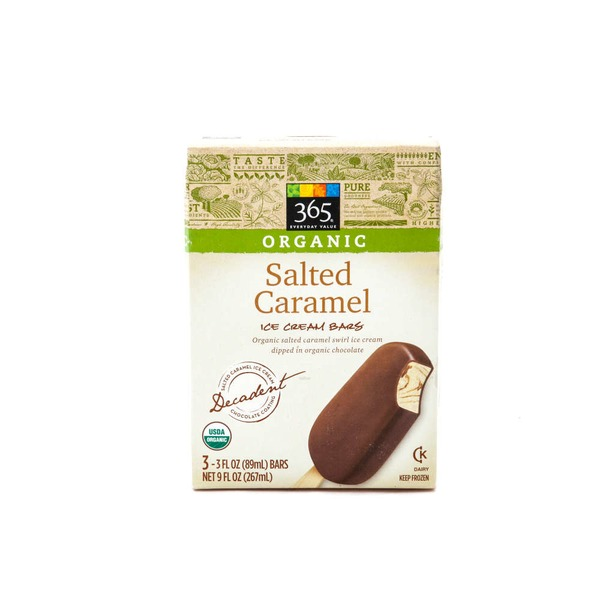 365 Organic Salted Caramel Ice Cream Bars
