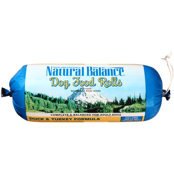 Natural Balance Duck & Turkey Formula Rolls Dog Food