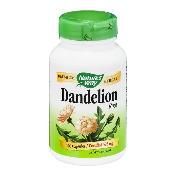 Nature's Way Dandelion Root 525mg - 100 CT