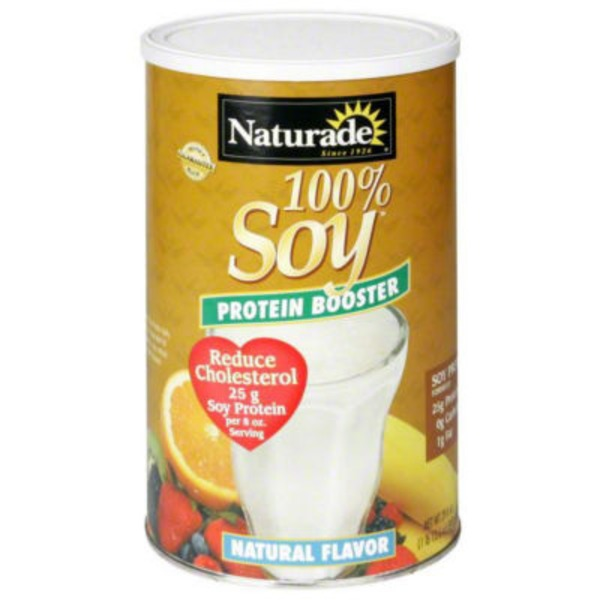 Naturade 100% Soy Protein Booster Natural Flavor
