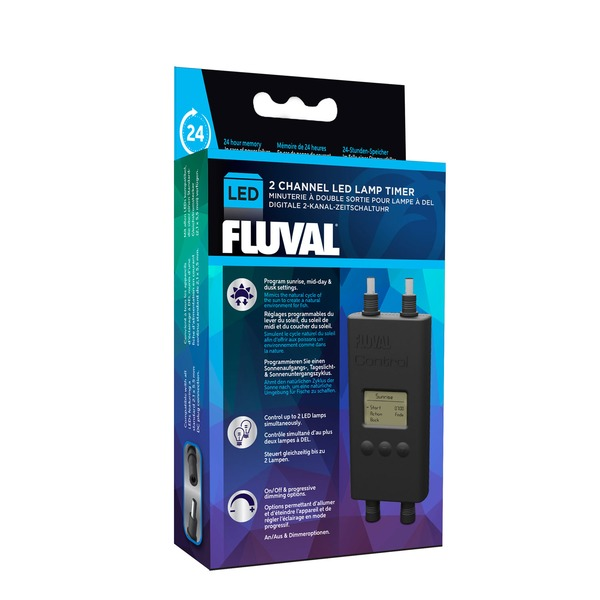 Fluval 2 Channel LED Lamp Timer