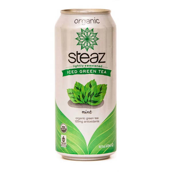 Steaz Iced Green Tea Mint