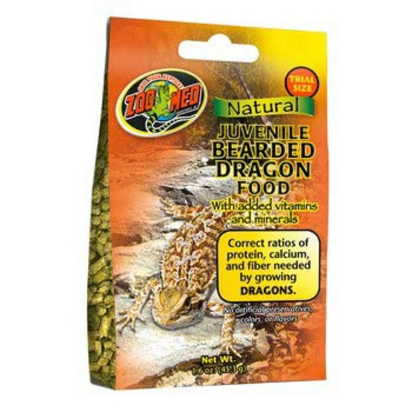 Zoo Med Gourmet Juvenile Bearded Dragon Food 1.6 Oz.