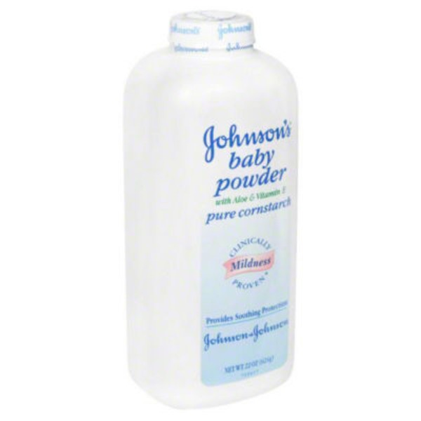 Johnson's® Pure Cornstarch W/Aloe & Vitamin E Baby Powder