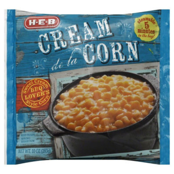H-E-B Steamable Cream De La Corn