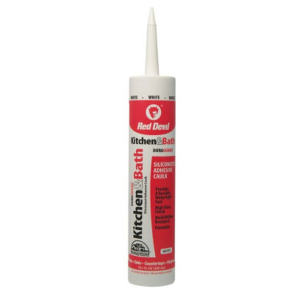 Red Devil Kitchen & Bath Siliconized Acrylic Caulk Cartridge