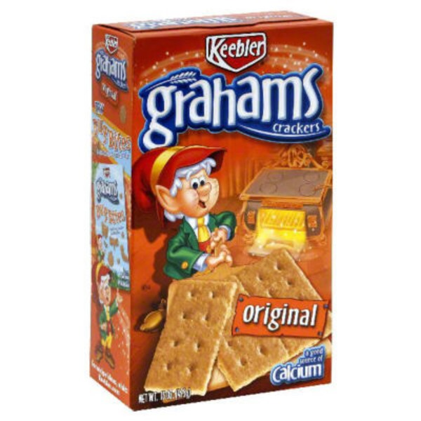 Keebler Grahams Original Graham Crackers