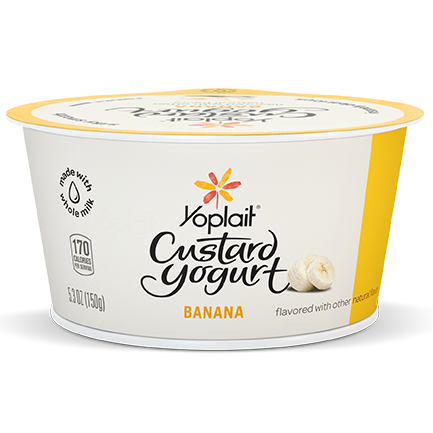 Yoplait Custard Whole Milk Yogurt Banana