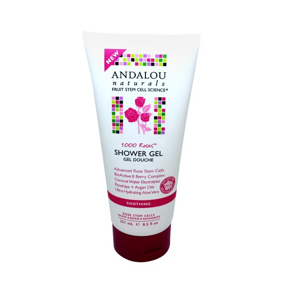 Andalou Naturals 1000 Roses Soothing Shower Gel
