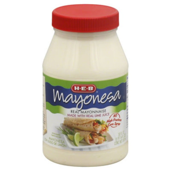 H-E-B Real Mayonnaise With Real Lime Juice