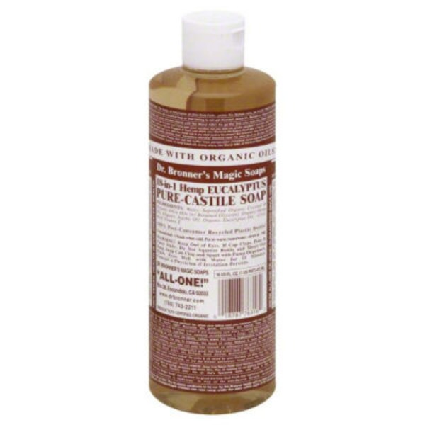 Dr. Bronner's Magic Soaps Eucalyptus Pure Castile Soap