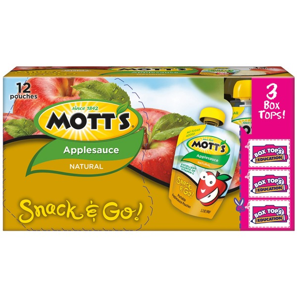 Mott's Natural Applesauce