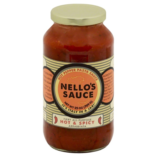 Nellino's Hot & Spicy Pasta Sauce