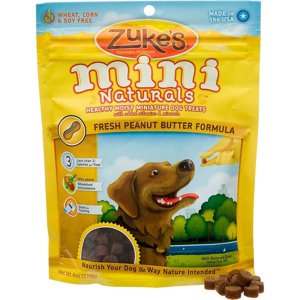 Zuke's Peanut Butter Formula Miniature Dog Treats