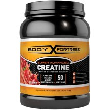 Body Fortress Super Advanced Creatine Powder, Fruit Punch, 50 Servings